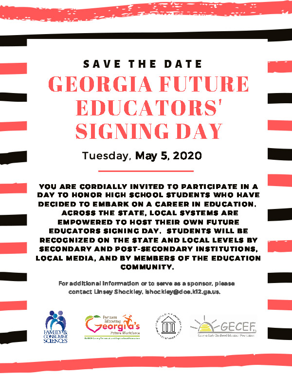 Georgia Future Educators Signing Day